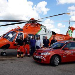 Team Crafty Fox and the Magpas Air Ambulance Team