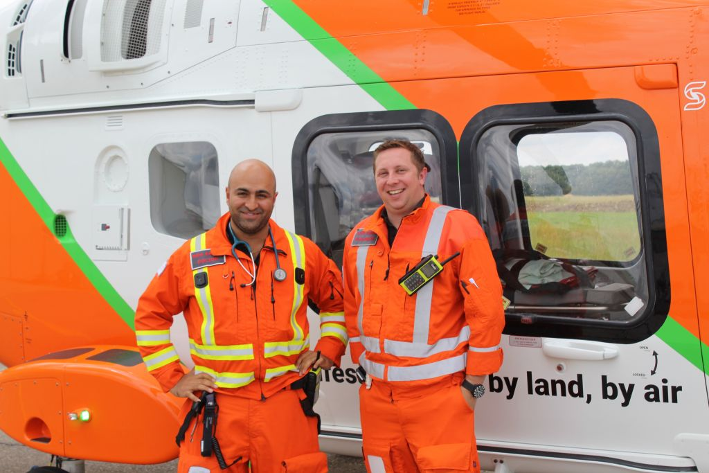 Air Ambulance Cambridgehsire