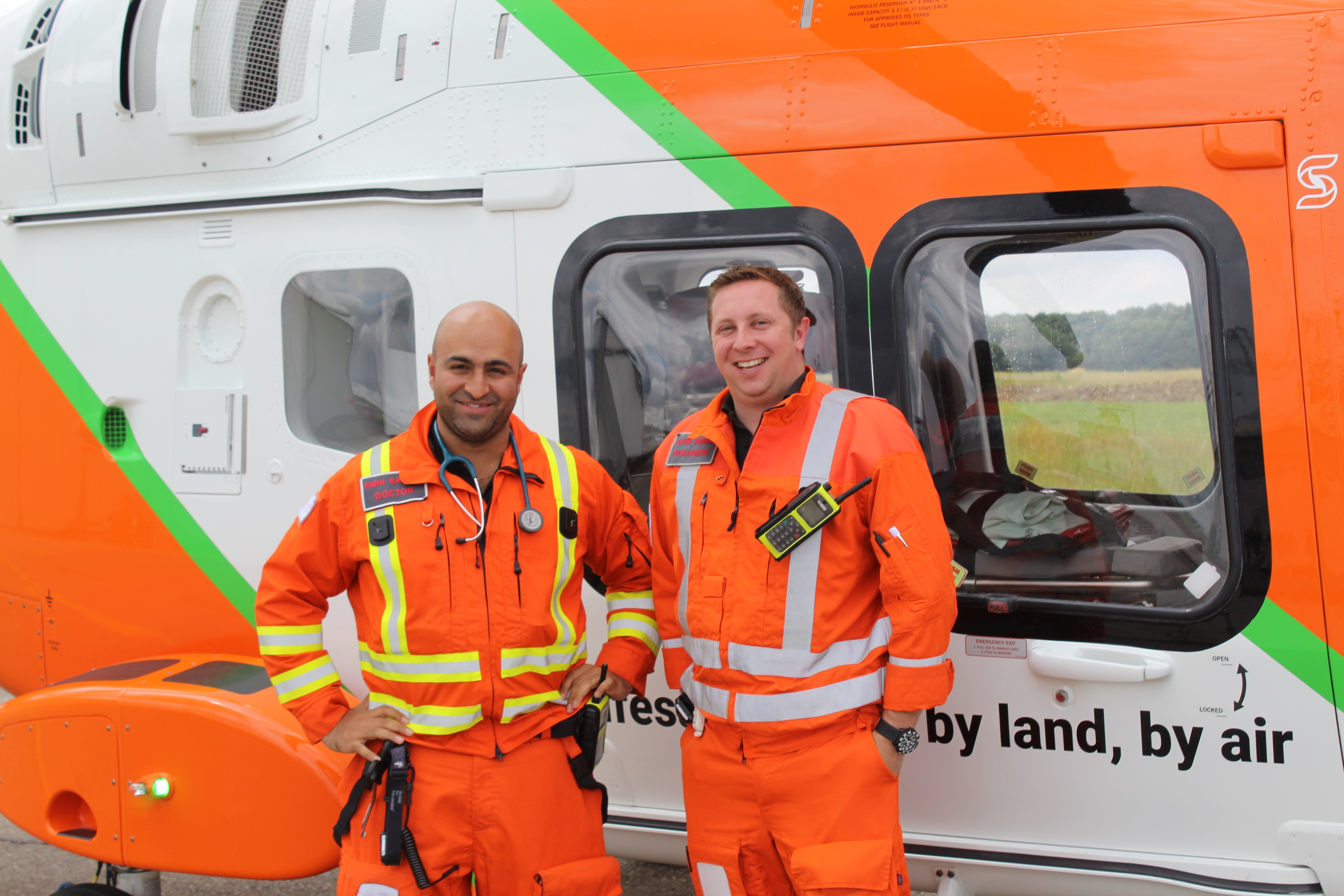 Doctor Rishi and Paramedic Ollie