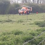 Magpas Air Ambulance lands to treat George