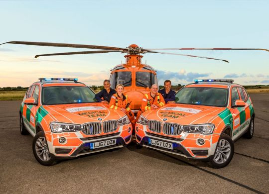 The Magpas Medical Team